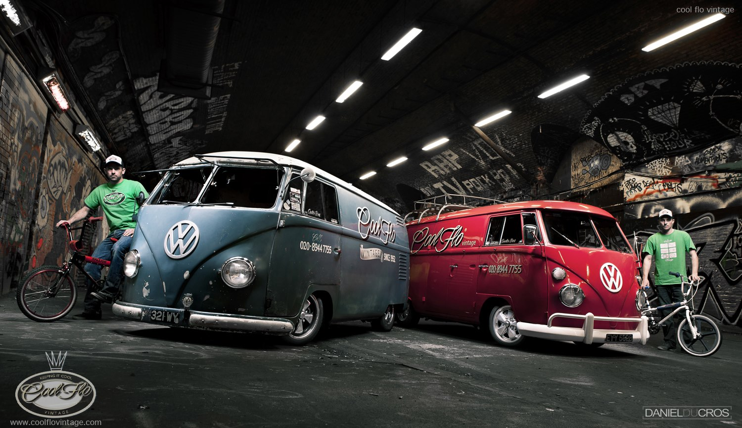 VWs meet BMX at the 2013 VolksWorld Show! - VW Camper and Bus