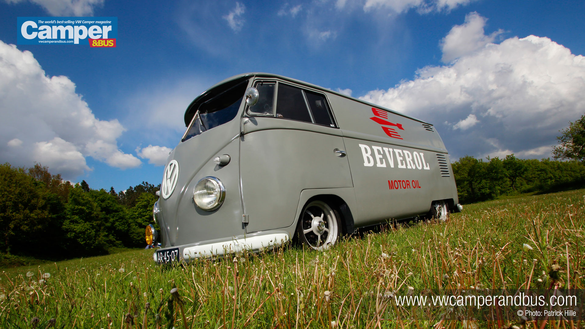 1956 Vw Split Screen Panel Van Desktop Wallpaper Vw