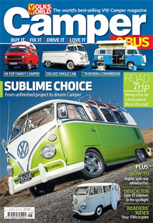 Camper&Bus Magazine June 2015