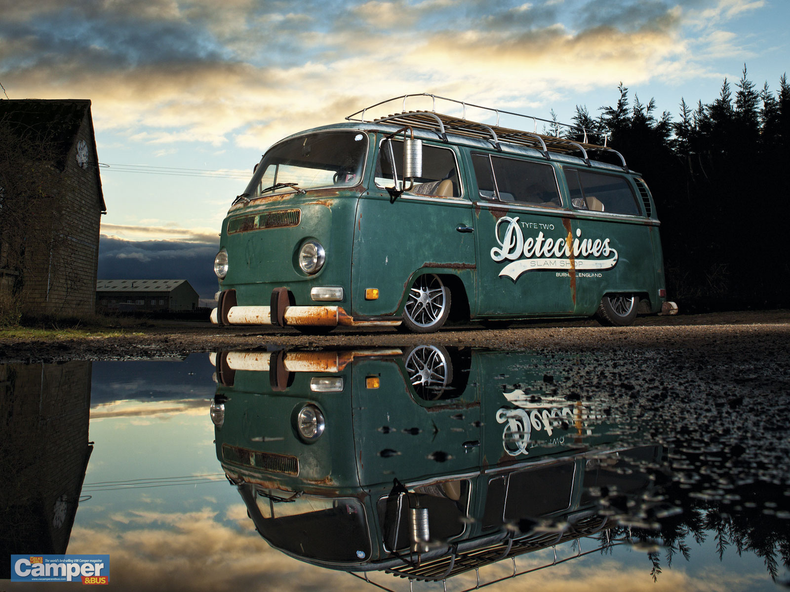 camperbus wallpaper  june  issue vw camper  bus