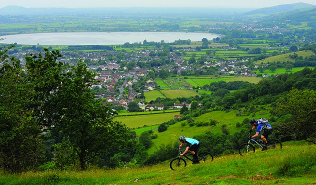 The Mendips offer some little-known singletrack and amazing views