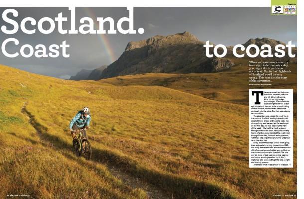 Andy McCandlish takes on a Scottish coast to coast