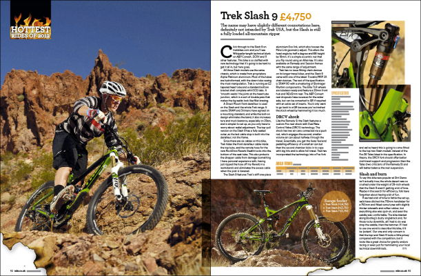 Trek gives new meaning to the phrase 'going for a slash'