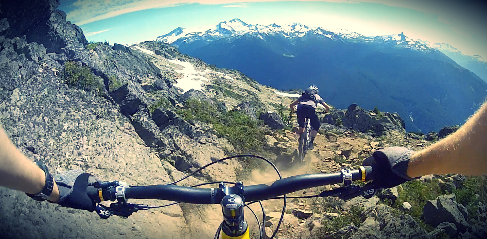 Explore The Beauty Of Caribbean: Whistler's Top Of The World Talkie-cam (video)