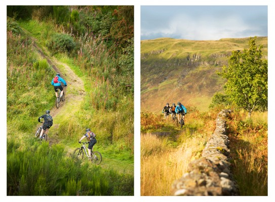 Big mountain riding is just a dry stone's throw from the city centre