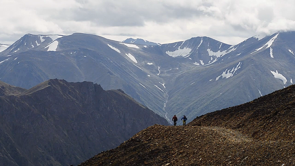 Yukon mountain biking tour