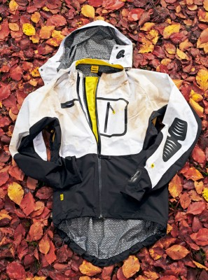 Mavic's Stratos jacket is something out of the ordinary