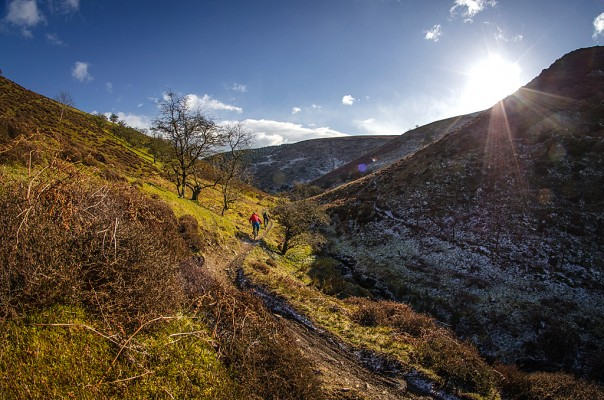 Long Mynd, Shropshire GPS route download
