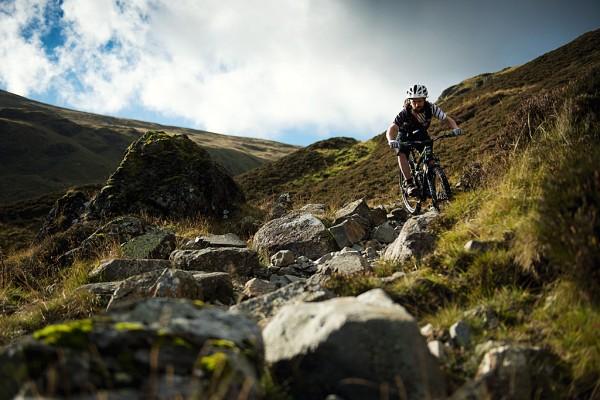 Sticks Pass and Helvellyn mountain bike ride