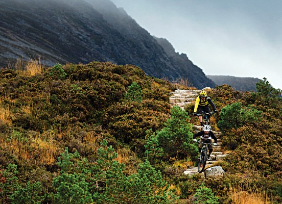 Lairig Ghru, Cairngorms mountain bike route