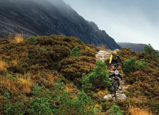 Lairig Ghru, Cairngorms mountain bike route