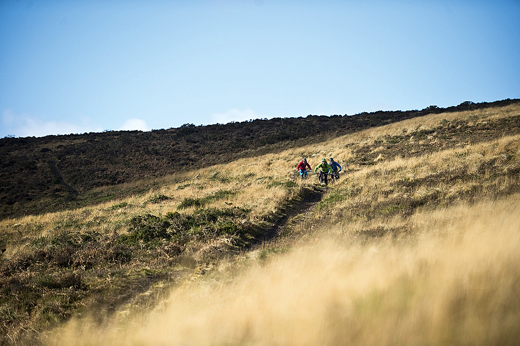 The Quantocks boasts a bulging larder of singletrack