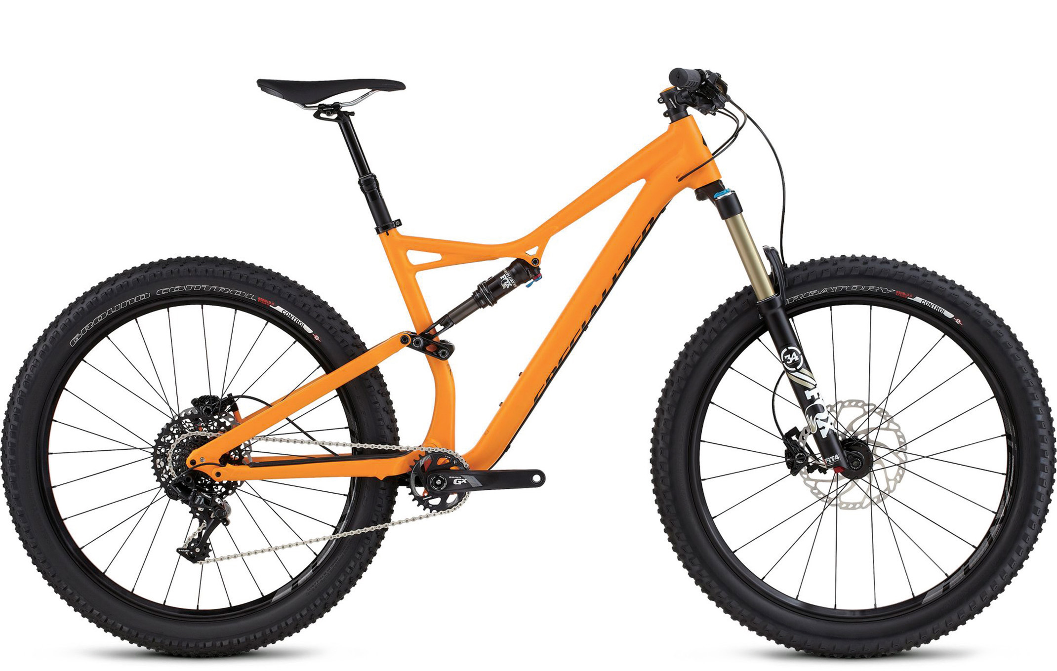 ad528f9c9a6 Specialized Stumpjumper FSR Comp 6Fattie (2016) review - MBR