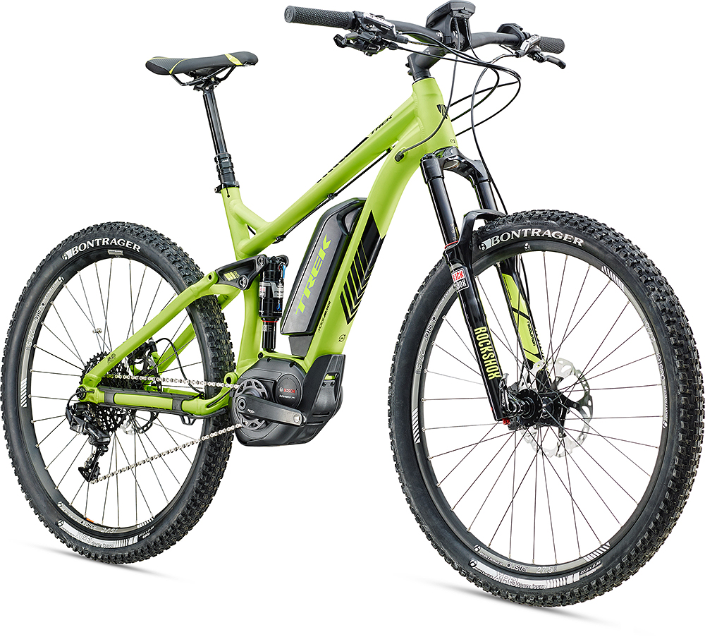 trek launches powerfly full suspension e bike mbr