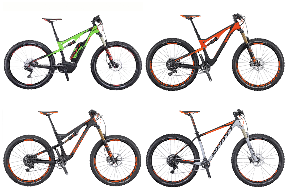 Scott adds new Plus wheel sizes for 2016 range - MBR