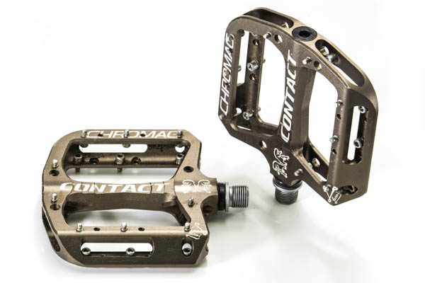 Chromag Contact Pedals Black