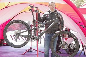 Curtis Keene Bike Check