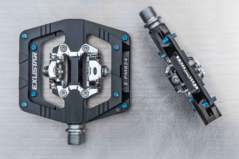 Exustar E-PR200 Rennrad Pedal schwarz