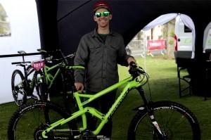 Jerome Clementz bike check