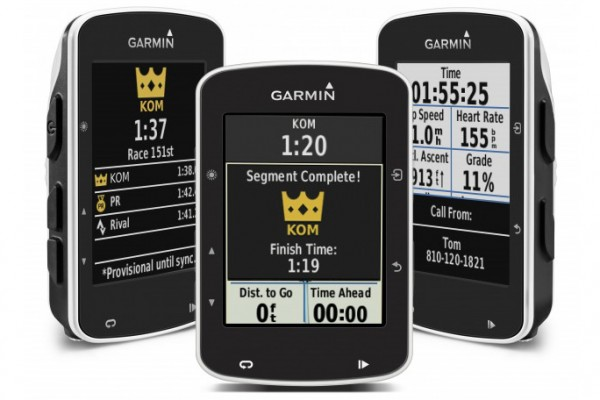 Garmin Launches The First Gps Bike Computer With Strava Live