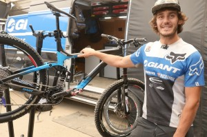 Yoann Barelli bike