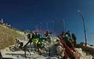 Megavalanche crash