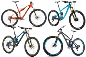 Best 2016 mountain bikes