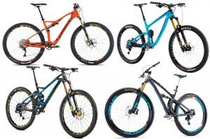 Best 2016 mountain bikes
