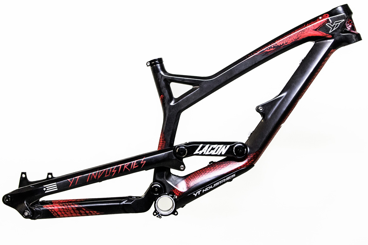 yt industries unveils custom rampage frames mbr