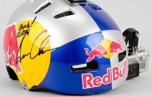Aaron Chase Red Bull Helmet