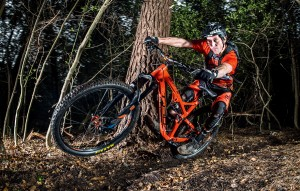 Whyte T-130 S Yari riding 2016
