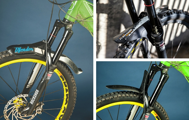 The best mountain bike front mudguards - MBR