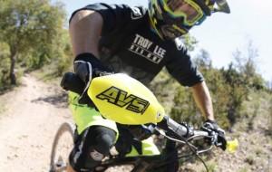 Mountain bike hand guard