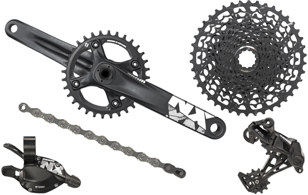 SRAM NX: The new 1×11 groupset for £250