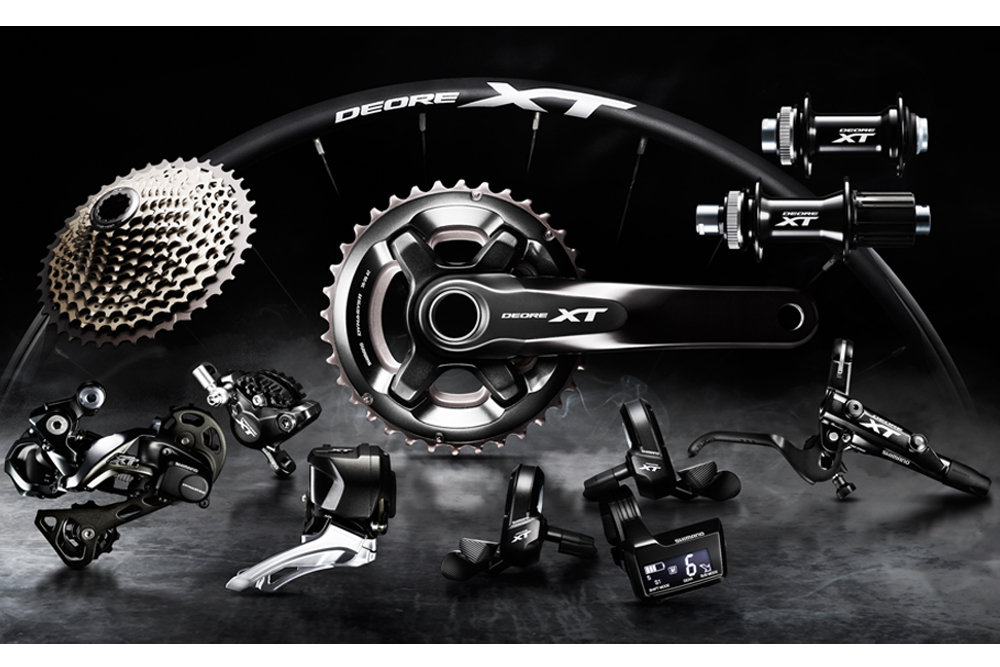 Shimano Xt Goes Electric With Wireless Di2 Mbr