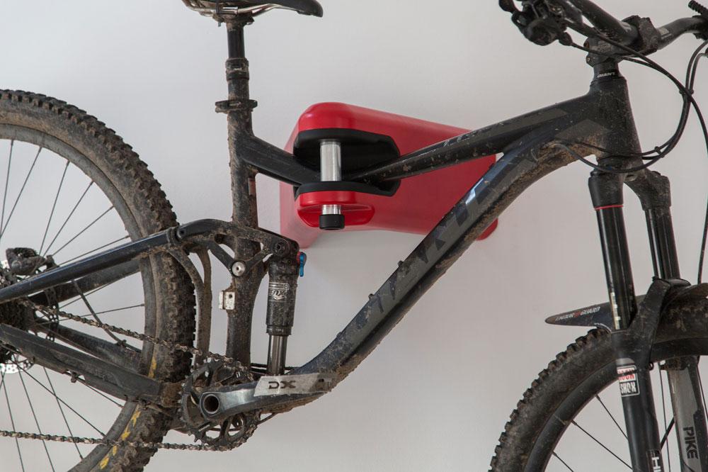 Vertical Bike Storage Diy