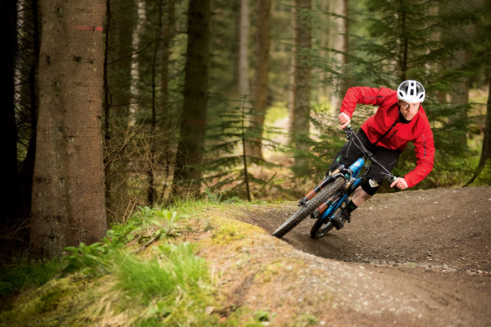 How to corner on a mountain bike - MBR