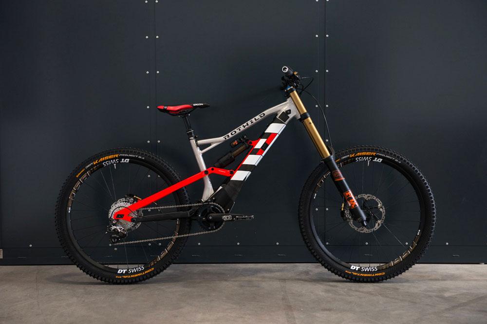 Rotwild S Electric Downhill Bike Mbr