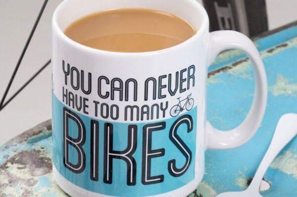 gift mountain biker