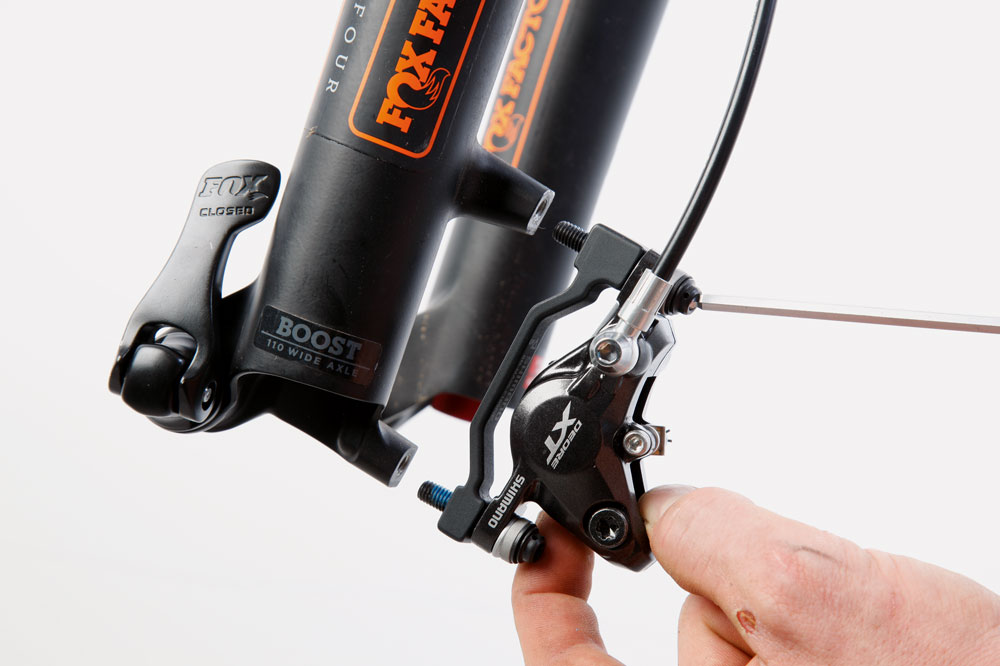 How to install a disc brake - MBR