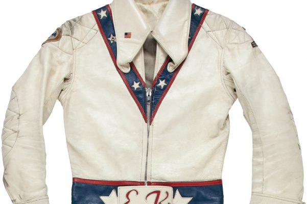 Evel Knievel Stratocycle Up For Auction: Evel Knievel's Iconic Jump Suit Up For Auction