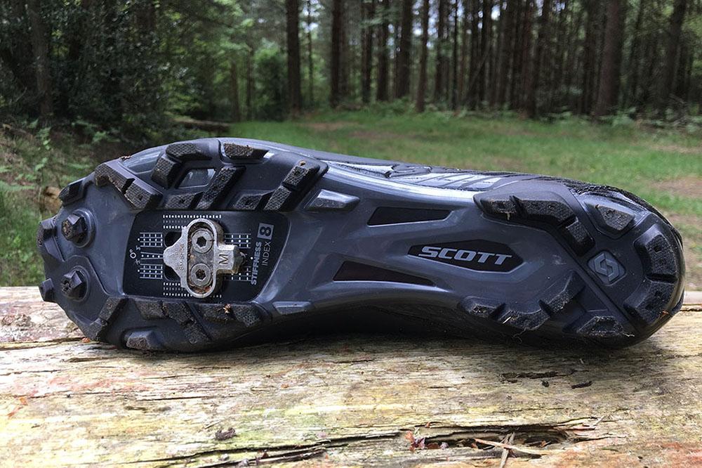 e17776331a153 Aggressive outsole comes with mud studs.