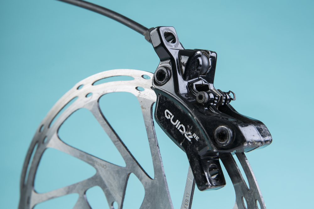 SRAM Guide RE disc brake review - MBR