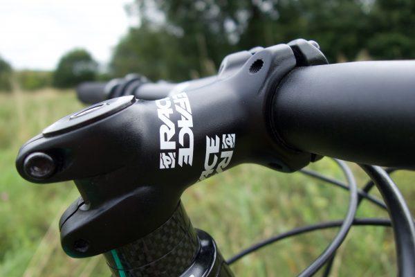 KS Ether stem black 0d x 50mm 31.8