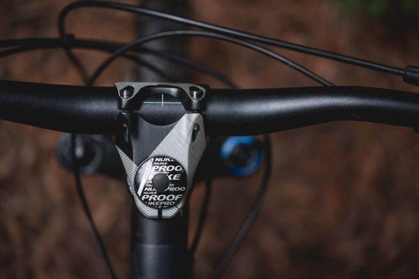 """Mountain Bike Handlebar Bar Alloy Riser Stem 110mm 31.8mm 1-1//8/"""" 35 Degree Rise"""