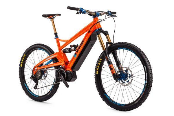Orange Alpine 6 E Factory first ride - MBR