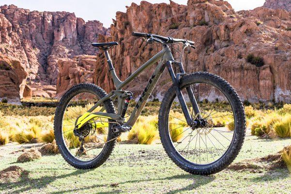 29in rims + 3in tyres + 130mm rear travel = Trek Full Stache - MBR