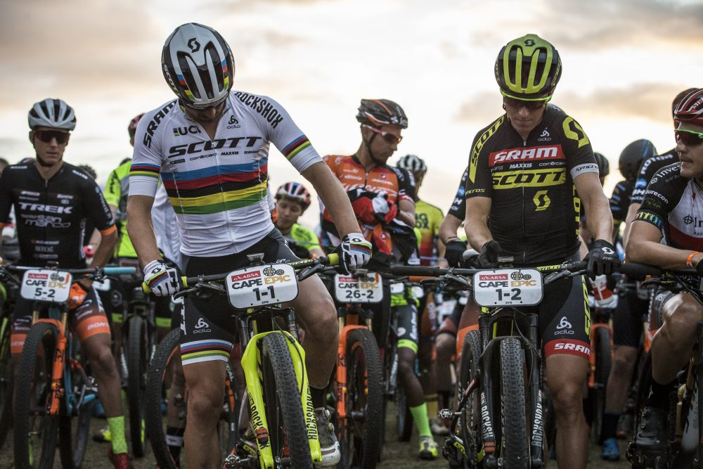 Watch Nino Schurter's disaster-filled Cape Epic attempt - MBR