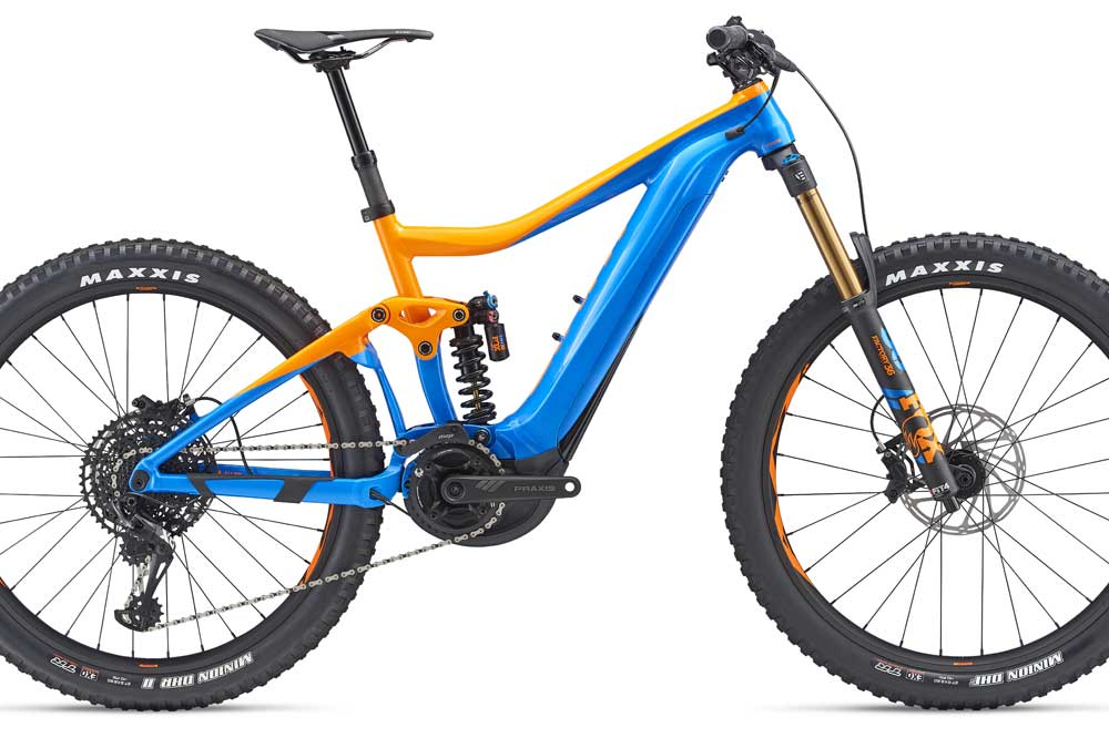 Details of new e-bikes from Giant - MBR