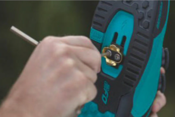 Where to position your pedal cleats for best all-round use - MBR
